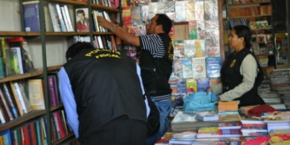 Asegura PGR diversas obras literarias falsificadas en la CDMX