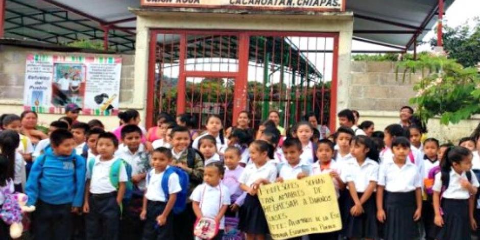 En Chiapas, 64% de las escuelas abiertas
