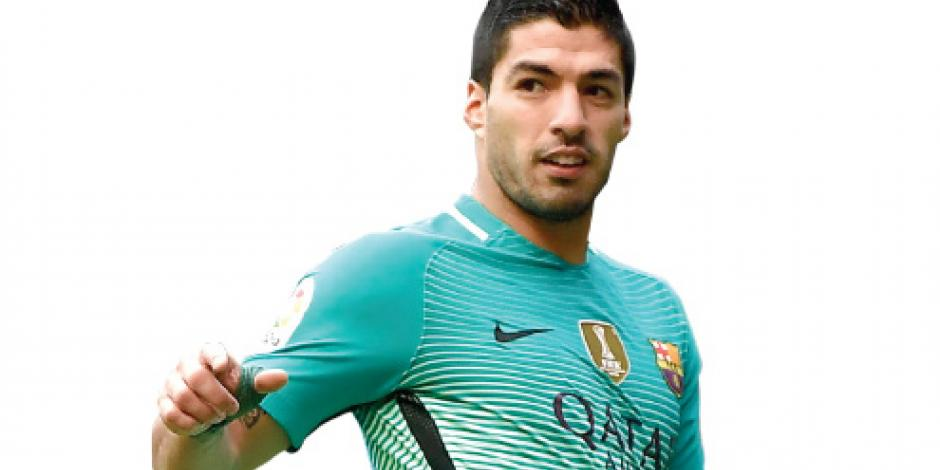 Suárez gana su tercer premio como mejor goleador del orbe