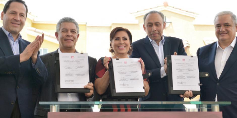 Apoya Eruviel Ávila para construir casas