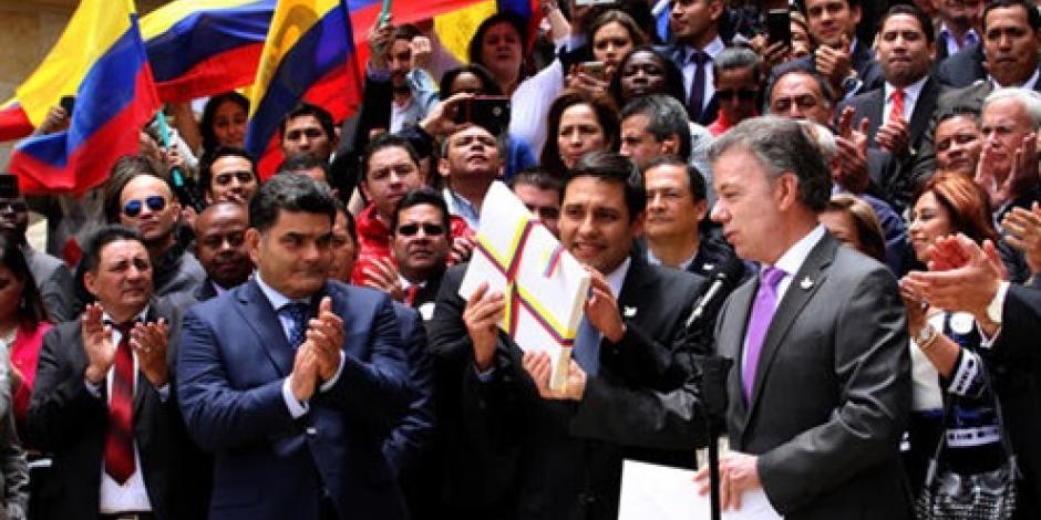 Colombia revela pregunta para plebiscito de la paz