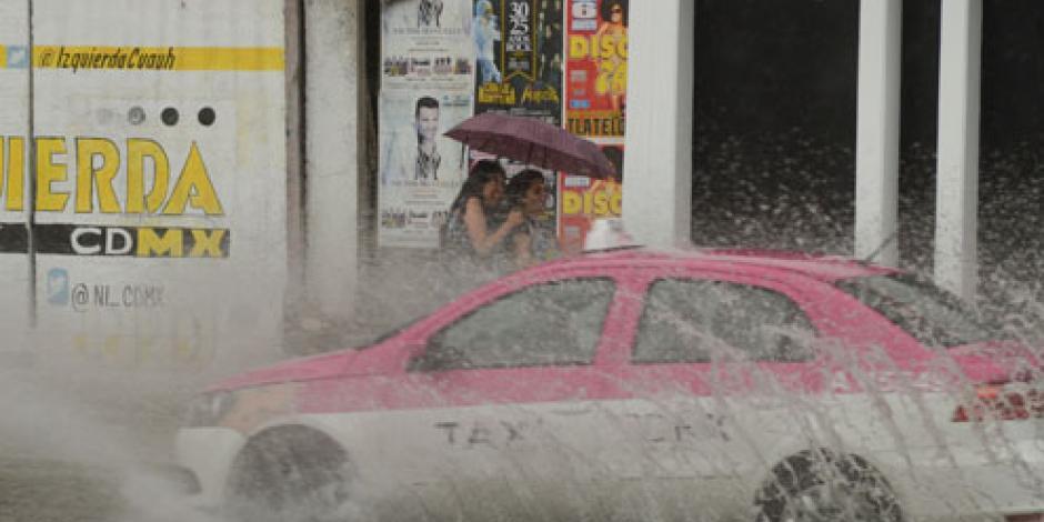 Pronostican lluvias intensas en la mayor parte del país
