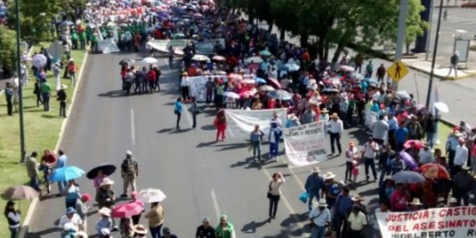 CNTE alista megamarcha este viernes en Morelia