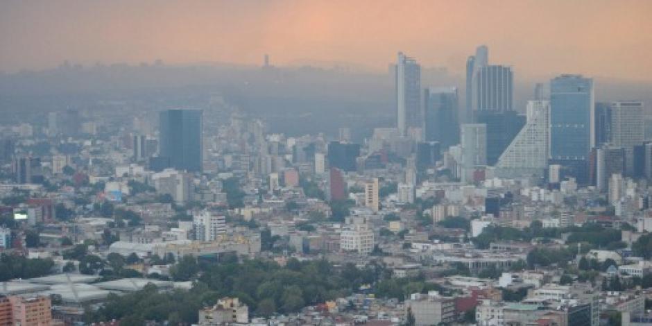 CDMX amanece con calidad del aire regular