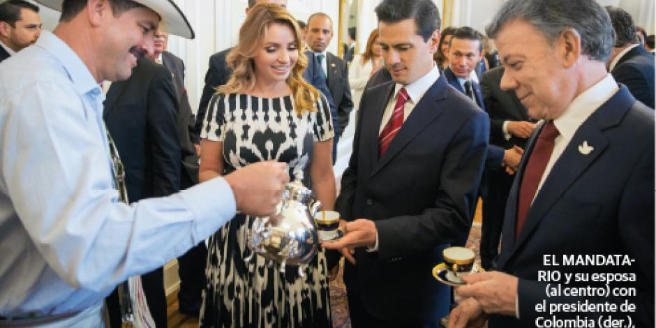Refrenda EPN acuerdo con Colombia contra narco