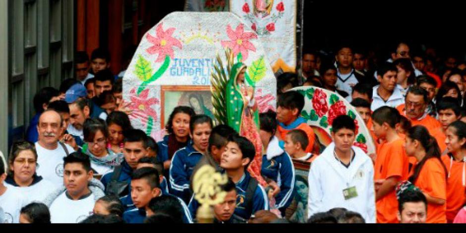 Fotogalería: Cerca de 800 mil visitantes llegan a la Basílica de Guadalupe
