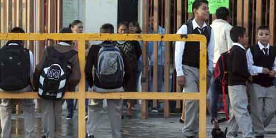 Reportan 64% de escuelas laborando en Chiapas