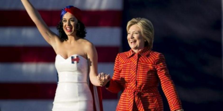 VIDEO: Katy Perry apoya campaña de Hillary Clinton