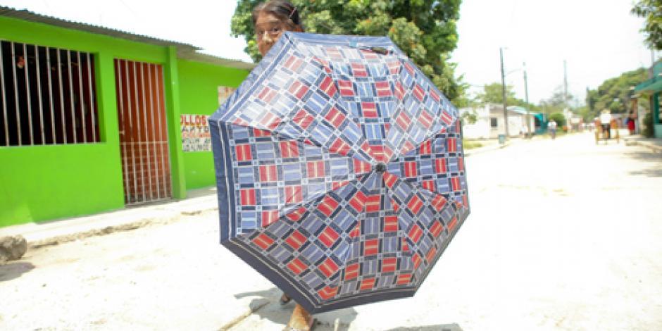 Frente Frío número 60 ocasiona lluvias al sur del país