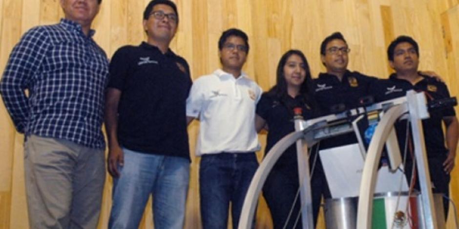 Alumnos de la UNAM ganan premio de la NASA con robot explorador de Marte