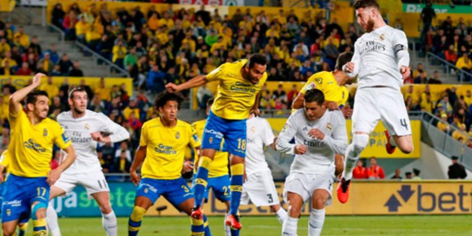Real Madrid sufre para vencer a Las Palmas
