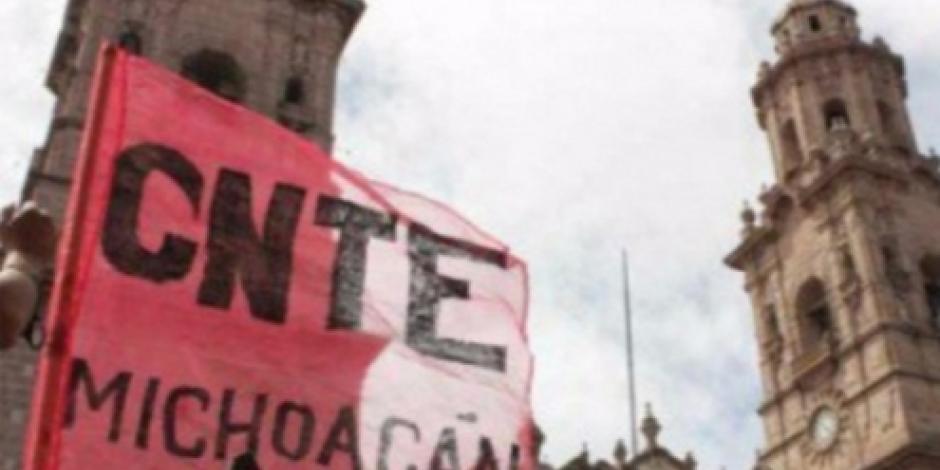 Vinculan a proceso a maestro de la CNTE en Michoacán por sabotaje