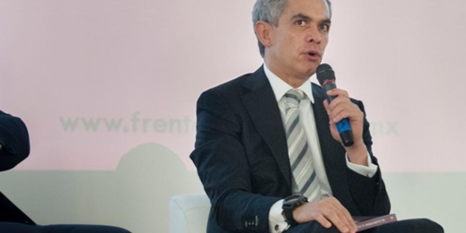 Hay buena disposición de Hacienda para tratar presupuesto, dice Mancera