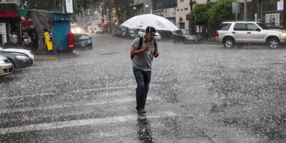 Prevén lluvias intensas en gran parte del país