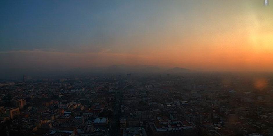 Valle de México arranca la semana con buena calidad del aire