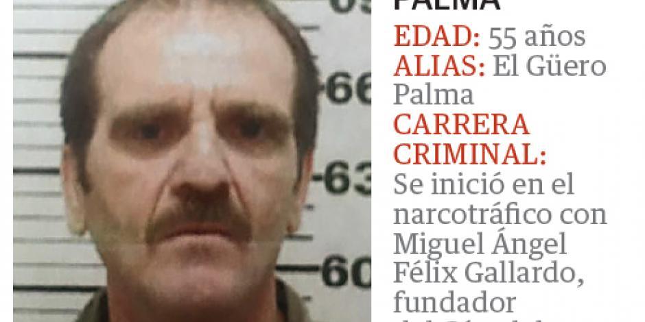 Se comporta aquí El Güero Palma como en cárcel de EU