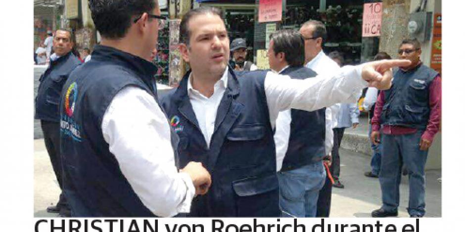 Benito Juárez retira de las calles a 2 mil ambulantes