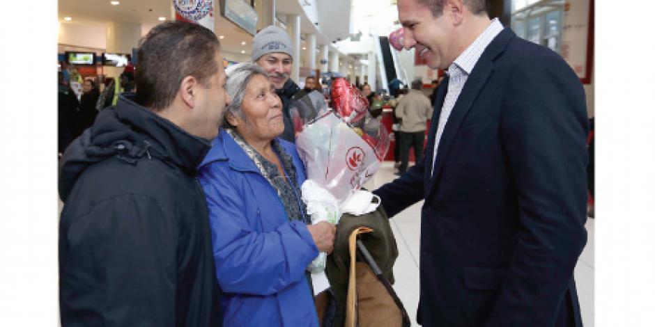 RMV apoya a familiares de migrantes