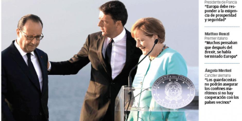 Merkel aboga por Turquía ante la UE: es esencial contra la trata
