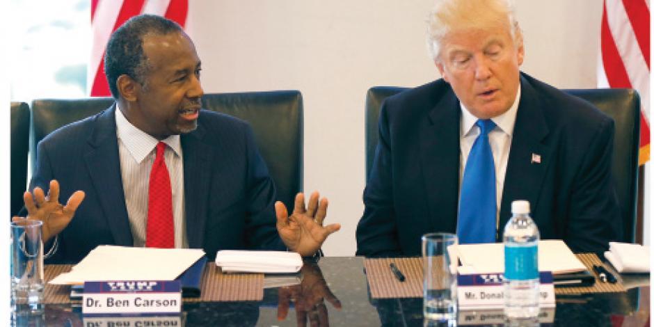 Trump suma a equipo a crítico de apoyos sociales