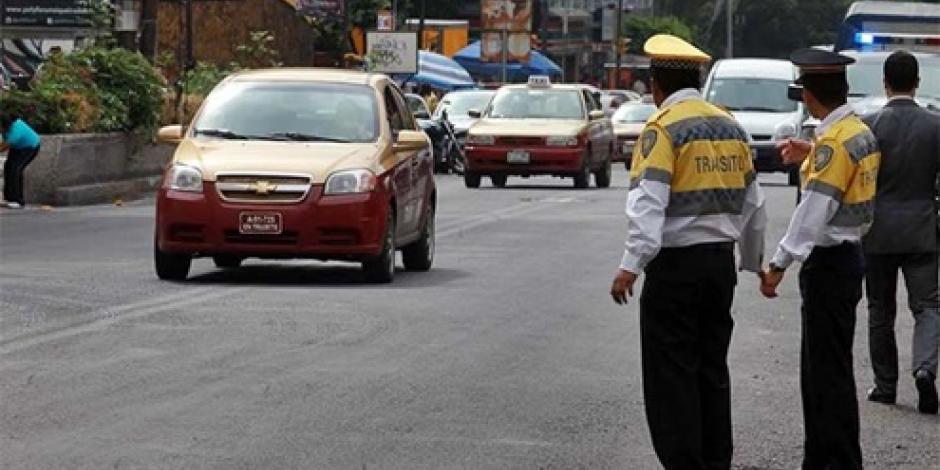 Autoriza SSP a más agentes de tránsito para infraccionar en la CDMX