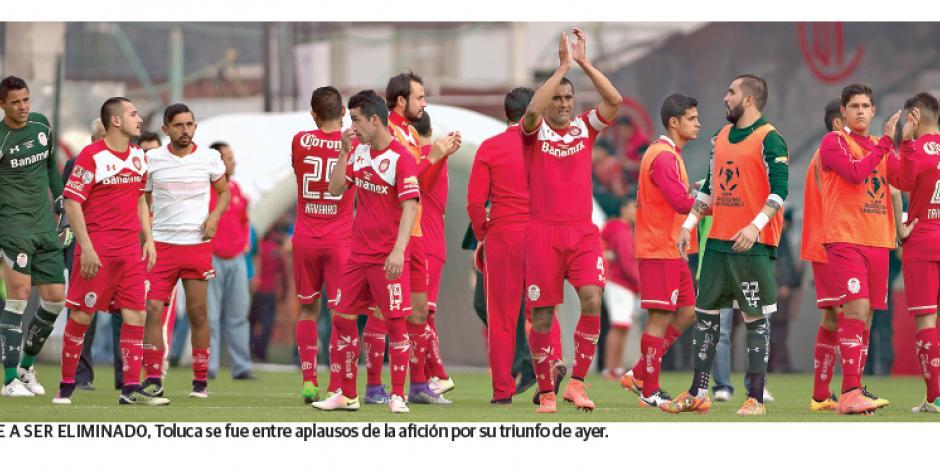 Toluca se va con orgullo de la Copa Libertadores