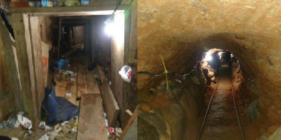 PGR encuentra narcotúnel en Tijuana