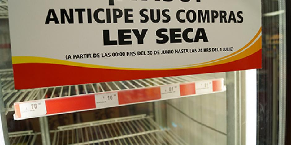 No habrá ley seca en Iztapalapa durante Semana Santa