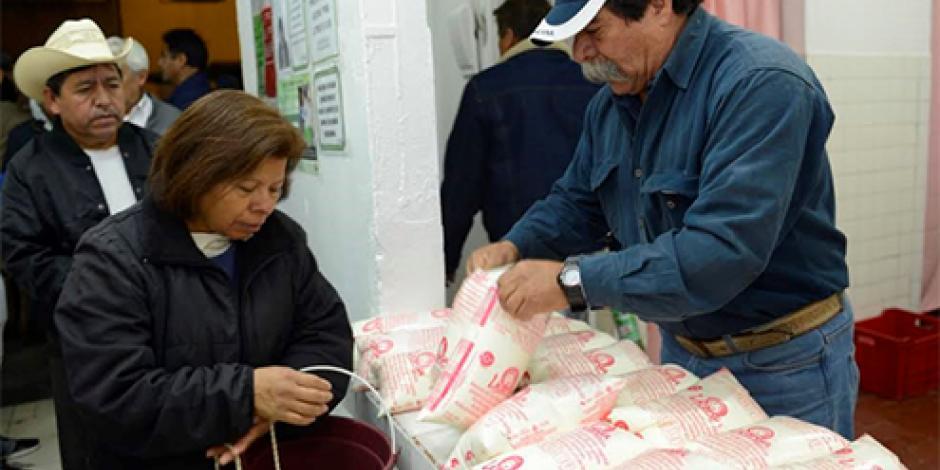 Liconsa beneficia a 6.5 millones de personas, resalta Sedesol