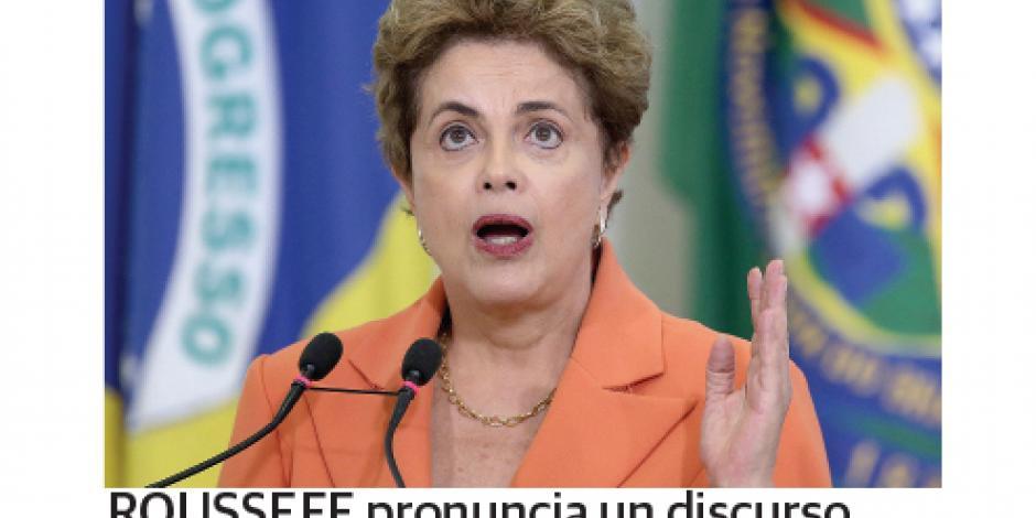 Dilma pierde primera etapa con senadores