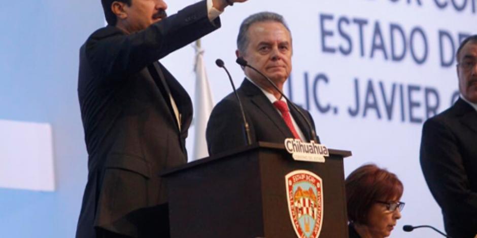 Javier Corral toma posesión como gobernador de Chihuahua