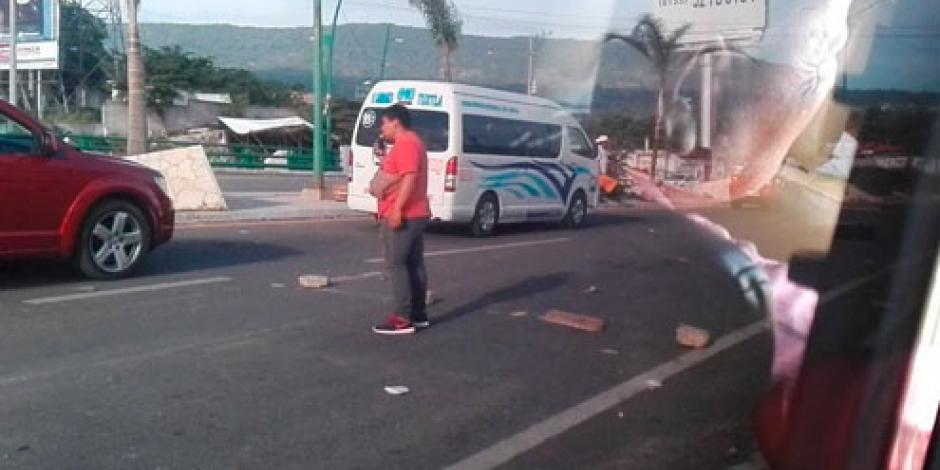 CNTE mantiene 5 bloqueos en Chiapas