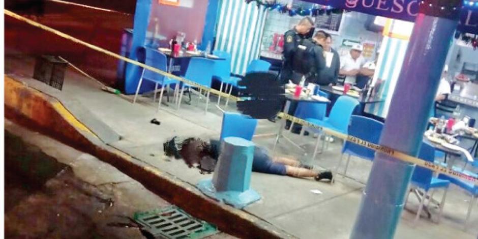 """En taquería de la Narvarte aparece otro """"vengador"""""""