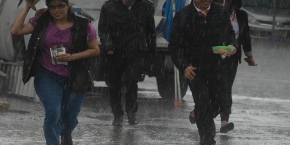 Prevé SMN tormentas en el Valle de México