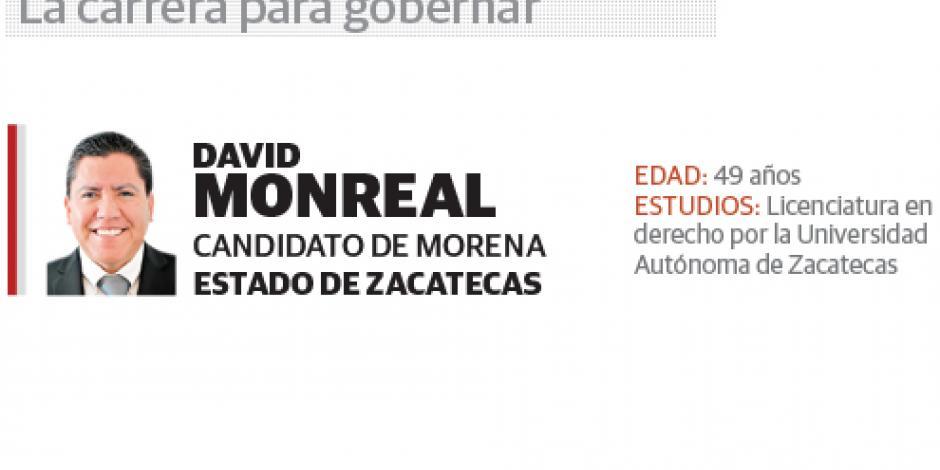 David Monreal: sí tendré diálogo con el Presidente