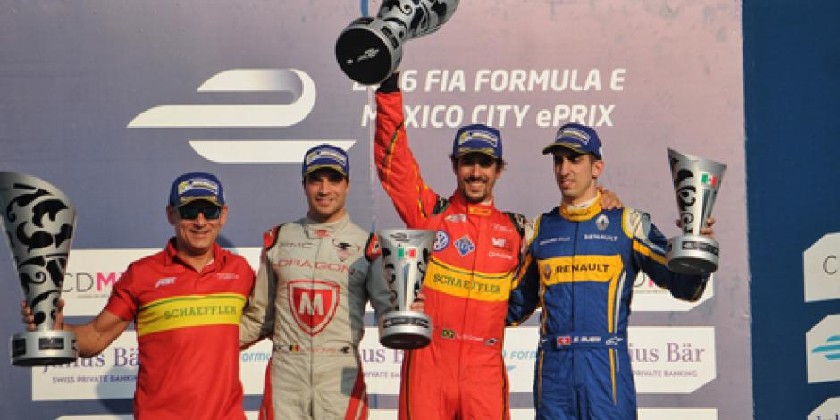 Descalifican a Di Grassi del ePrix de la CDMX; D'Ambrosio nuevo  ganador