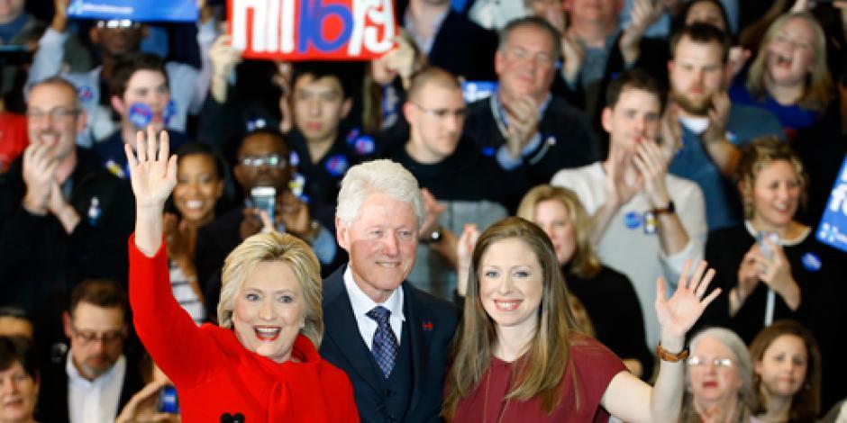 Declaran a Hilary Clinton ganadora en asamblea demócrata