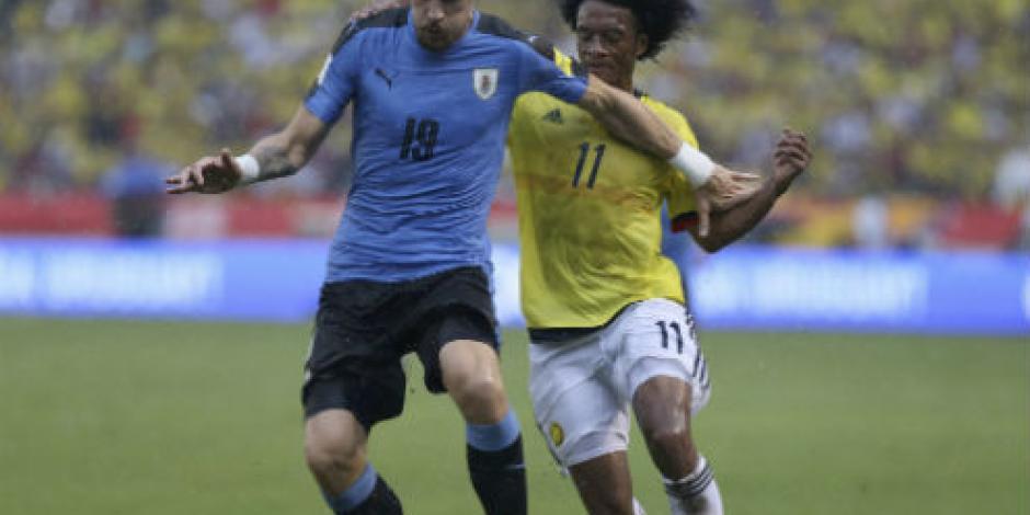 Uruguay empata contra Colombia y demuestra efectividad ofensiva