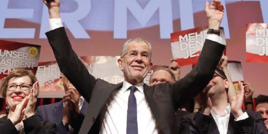 Ecologista derrota al populismo en Austria
