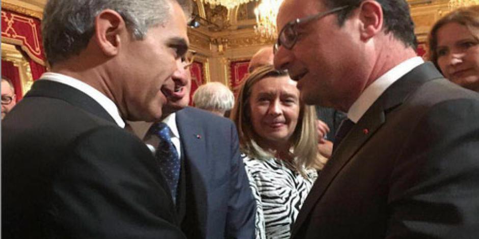 Mancera pide en París eliminar uso de combustibles fósiles