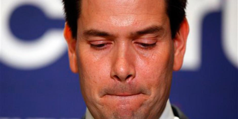 Rubio abandona carrera presidencial de EU