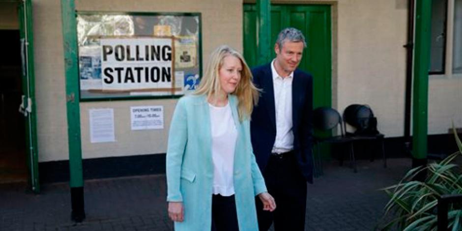 Ciudadanos en Londres salen a votar para elegir alcalde