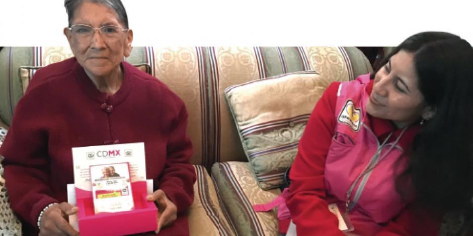 Ayuda pensión a un millón de abuelitos