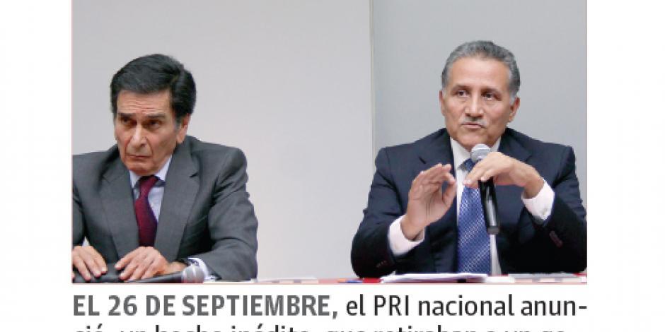 Acciones anticorrupción, pide PRI al PAN, PRD...