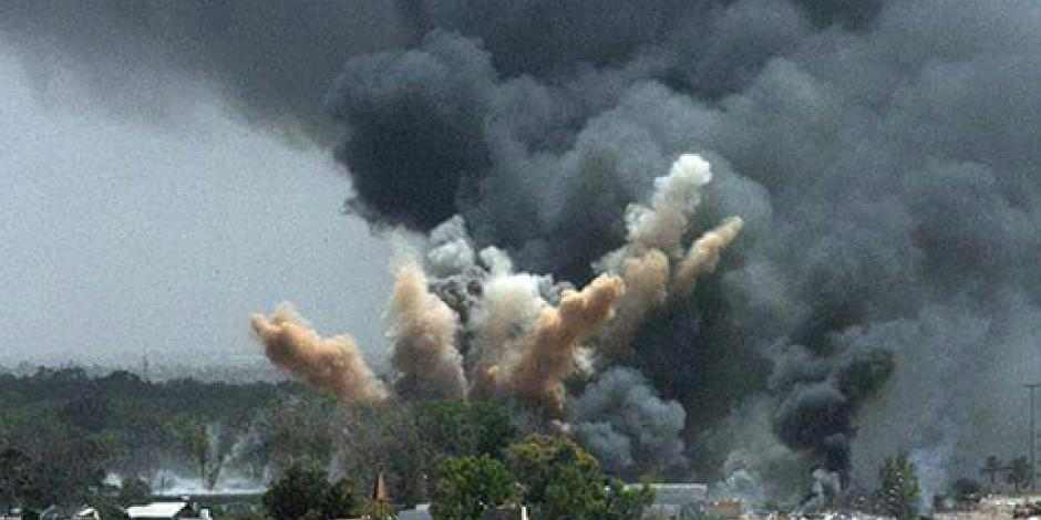 FOTOS: Explota mercado de pirotecnia en Tultepec