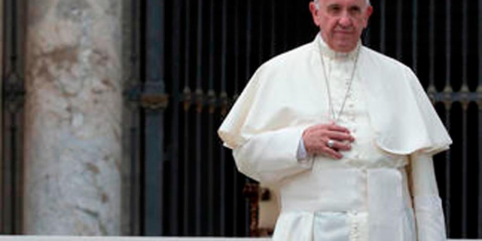 """Papa invoca """"armonía y paz"""" para Brasil en medio de crisis política"""