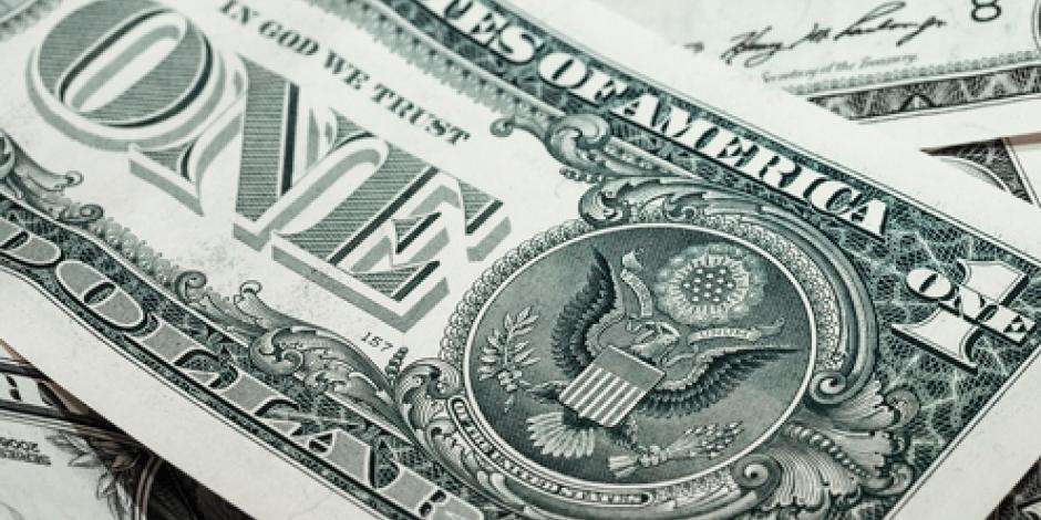 Dólar se vende hasta en 18.33 pesos en bancos de la CDMX