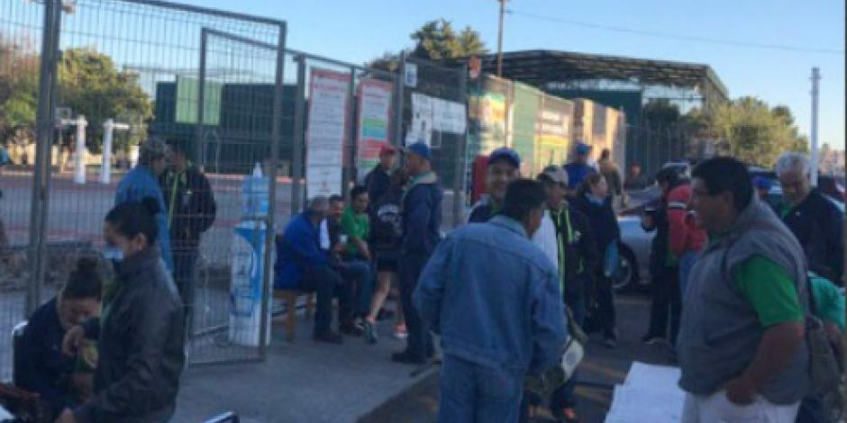 Sindicalistas toman oficinas en Michoacán para exigir pagos