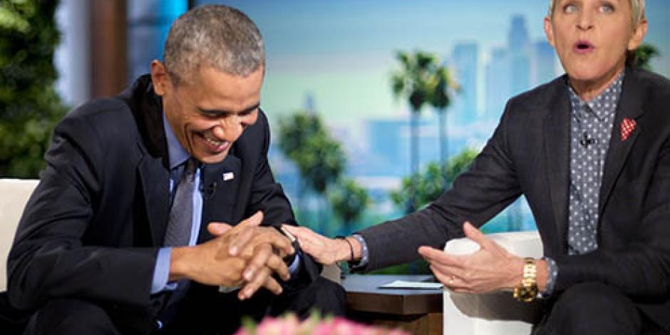¡Románticos! Obama le recita en vivo poema a Michelle