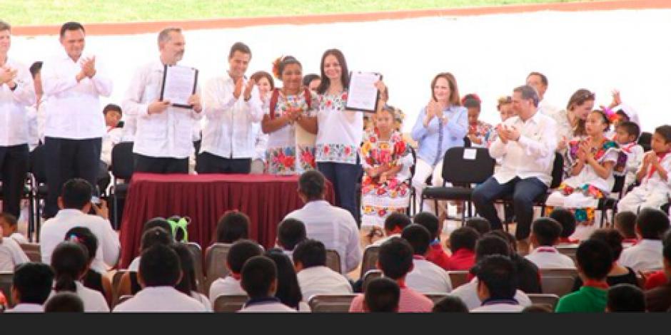EPN agradece a Miguel Bosé apoyo a favor de indígenas